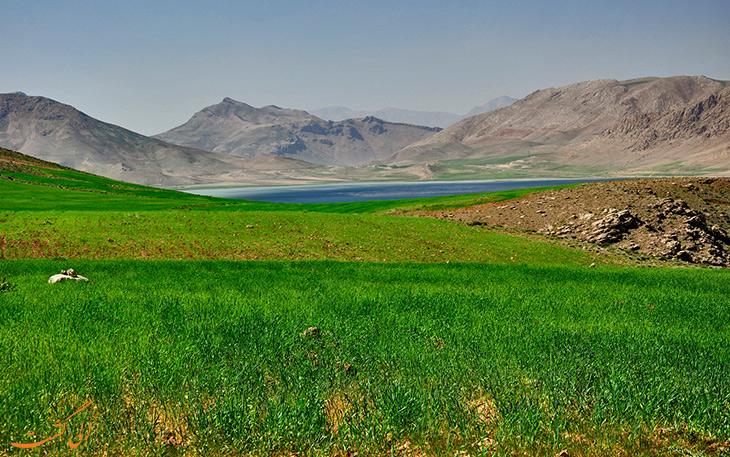 تالاب چغاخور در چهارمحال و بختیاری
