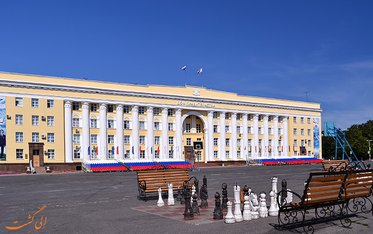 مختصری از تاریخ شهر اولیانوفسک