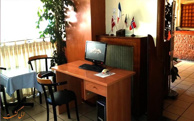 هتل آریستوتلز آتن- سیستم کامپیوتر هتل