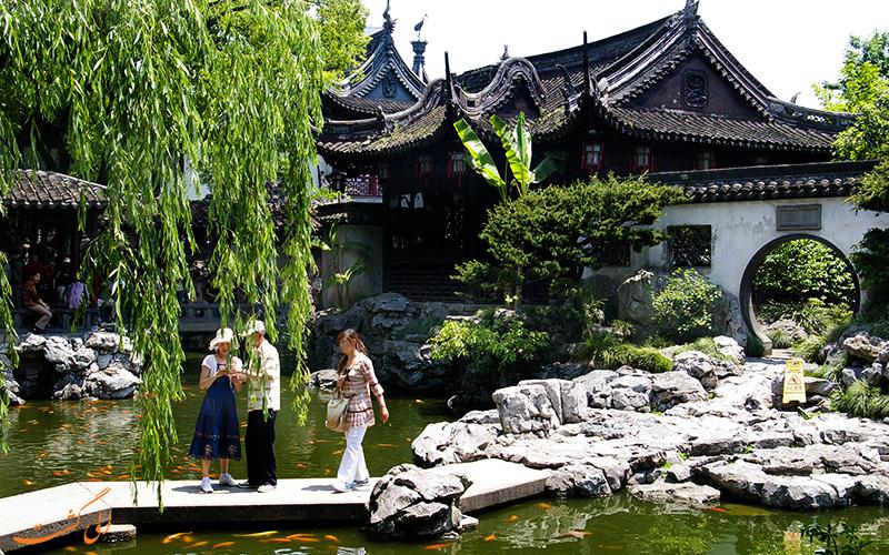 باغ زیبای یویوان در شانگهای چین
