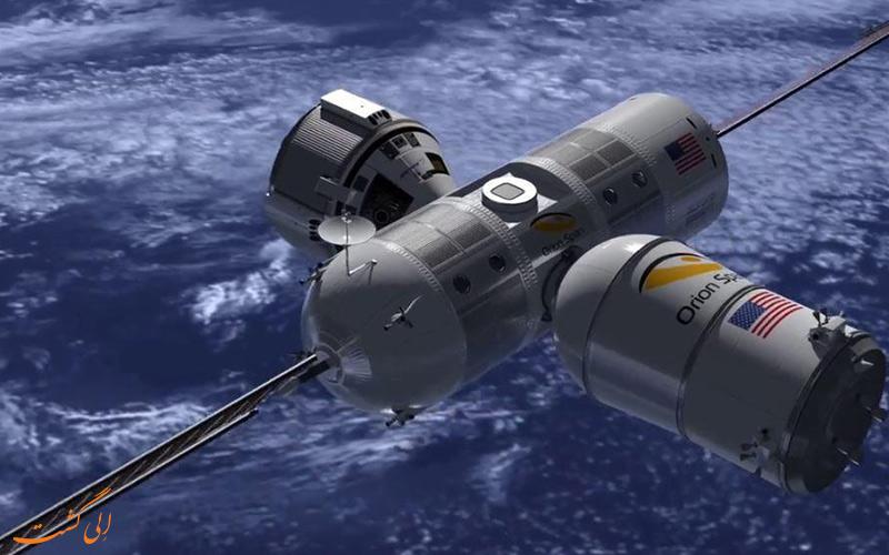 اولین هتل فضایی