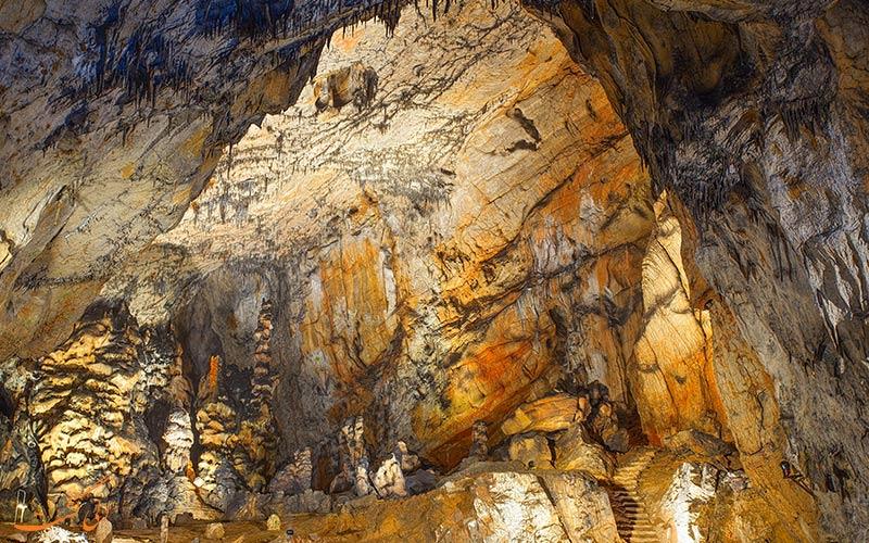 غارهای پارک ملی