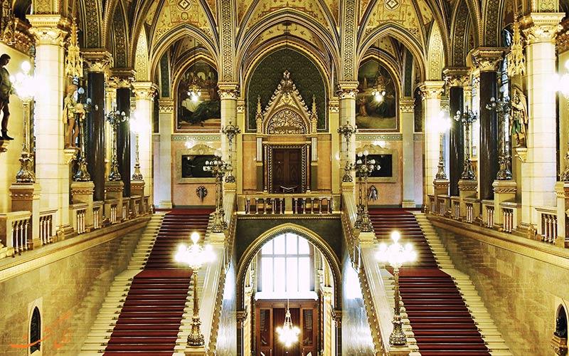 طراحی داخلی ساختمان پارلمان