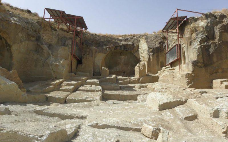 دورنمای معبد داش کسن