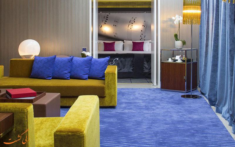 امکانات اتاق های هتل دو سورس پاریس
