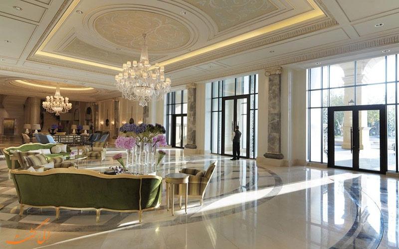 خدمات رفاهی هتل فور سیزنز باکو- ورودی هتل