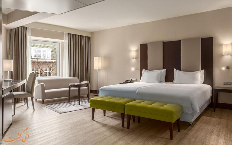 امکانات اتاق های هتل ان اچ سنتر آمستردام
