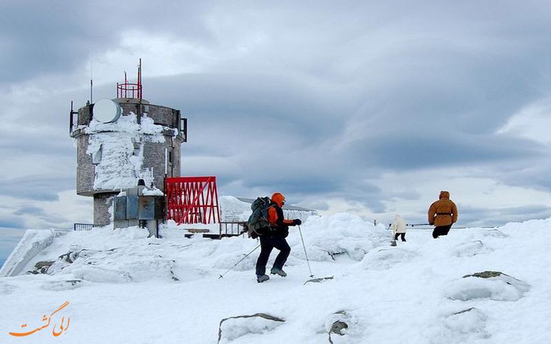 سردترین کوه دنیا