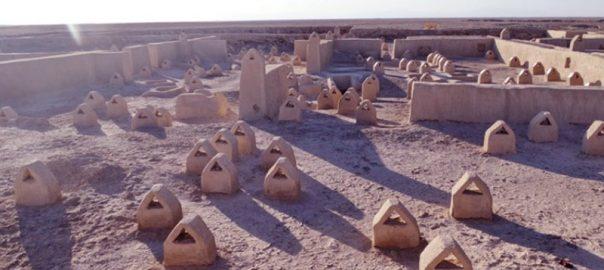 چرا روش دفن مردگان در شهر سوخته عجیب و نامانوس بوده است؟