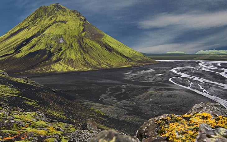 کوه آتشفشان ایسلند