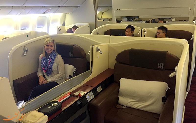 هواپیمای فرست کلاس سوئیت اسکای بویئنگ 777 ژاپن ایرلاینز