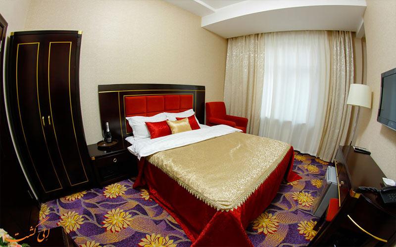 امکانات اتاق های هتل سافران باکو