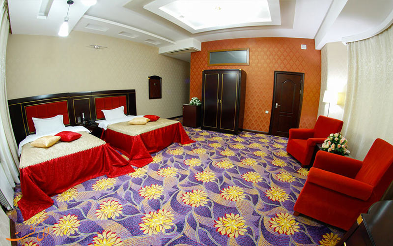 انواع اتاق های هتل سافران باکو