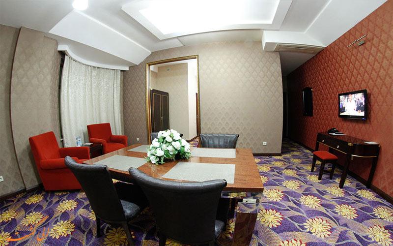 هتل سافران باکو- فضای نشیمن