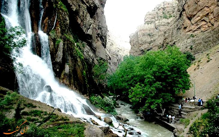 آبشار آب سفید الیگودرز