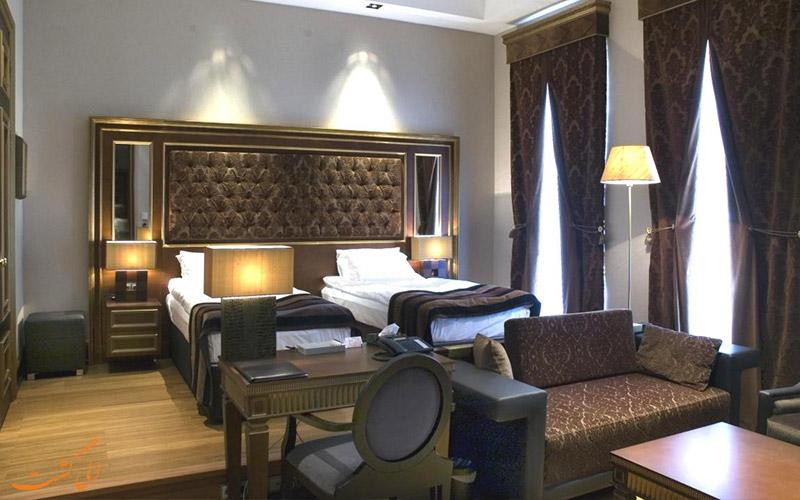 انواع اتاق های هتل سلطان این بوتیک باکو