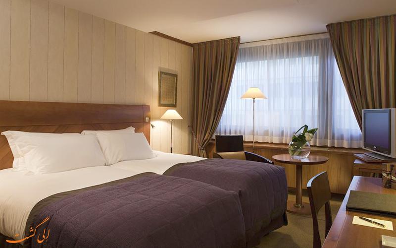 امکانات اتاق های هتل سوفیتل بلوکور لیون