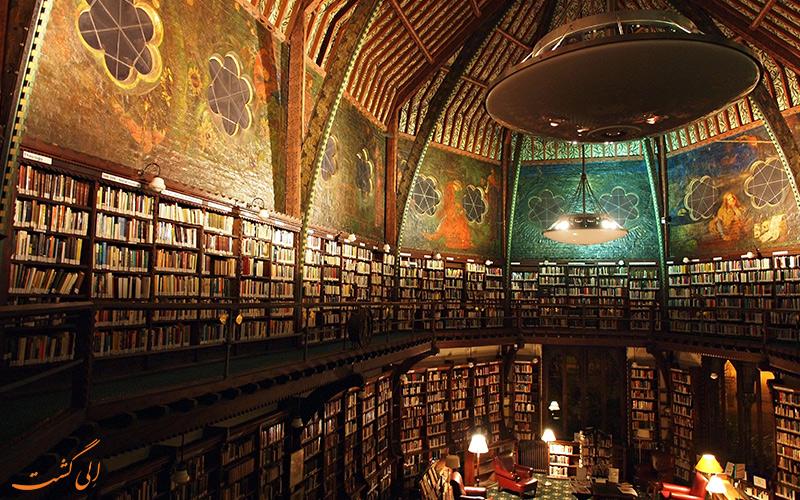 کتابخانه بادلین اصلی ترین در شهر آکسفور