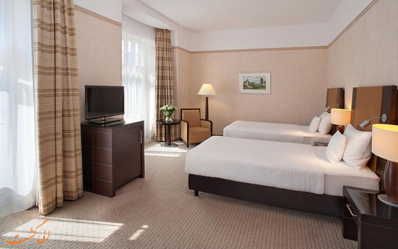 انواع اتاق های هتل پولونیا پالاس ورشو