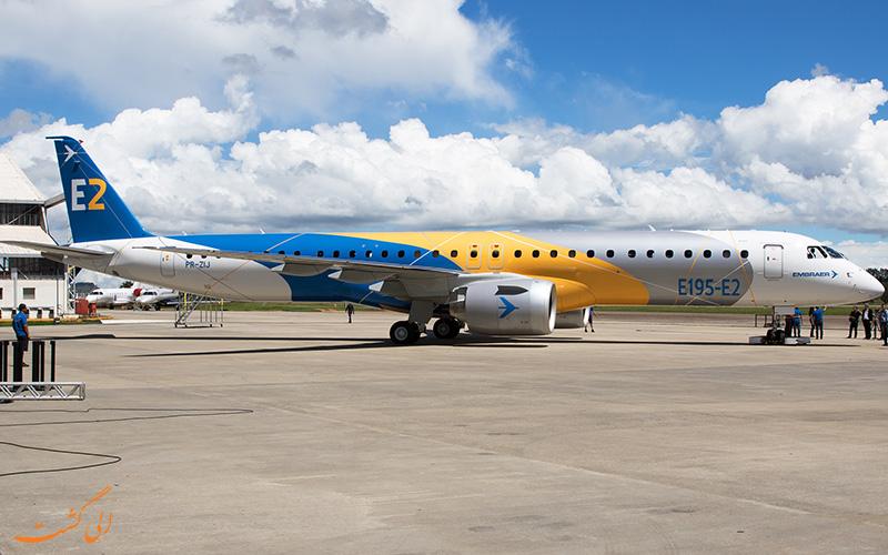 تاریخچه ی هواپیماهای خانواده ای جتز امبرائر