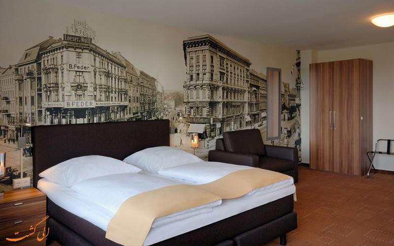 انواع اتاق های هتل مرکیور ام الکساندرپلاتز برلین