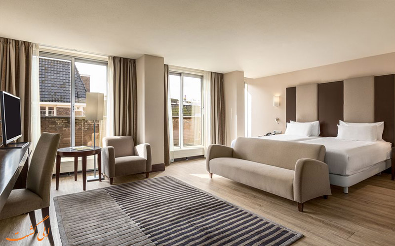 انواع اتاق های هتل ان اچ سنتر آمستردام