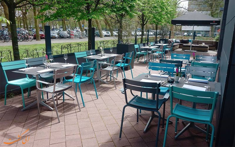 امکانات تفریحی هتل نووتل آمستردام- فضای بیرون رستوران