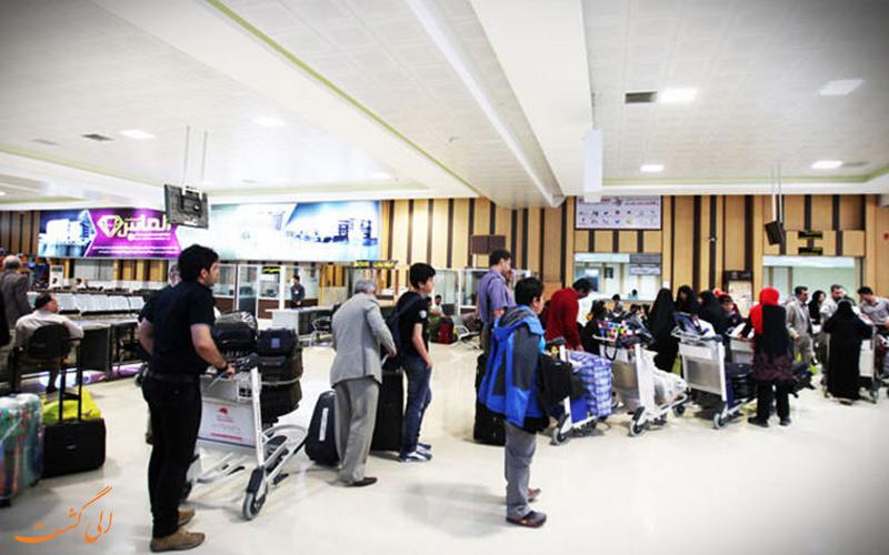 تاریخچه ی فرودگاه بین المللی قشم