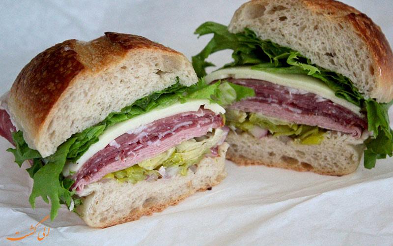 ساندویچ مورتادلا