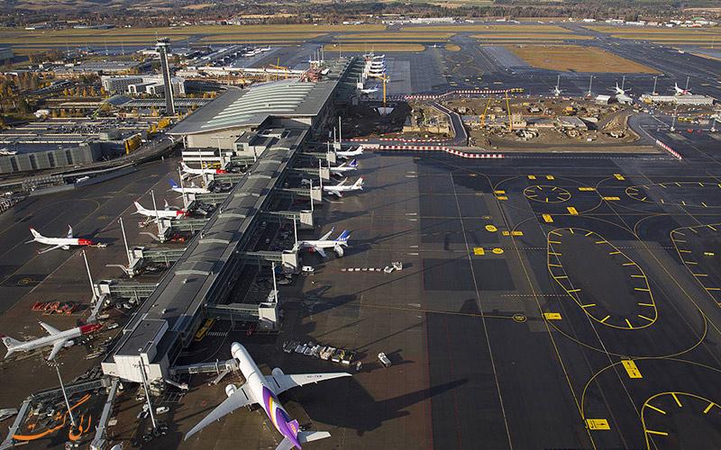 نتیجه تصویری برای فرودگاه اسلو – نروژ