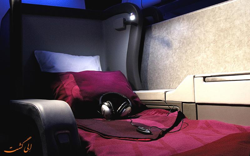 پروازهای فرست کلاس شرکت هواپیمایی قطر ایرویز