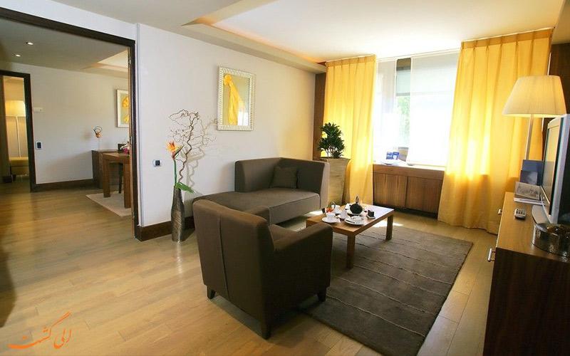 انواع اتاق های هتل سوفیتل بلوکور لیون