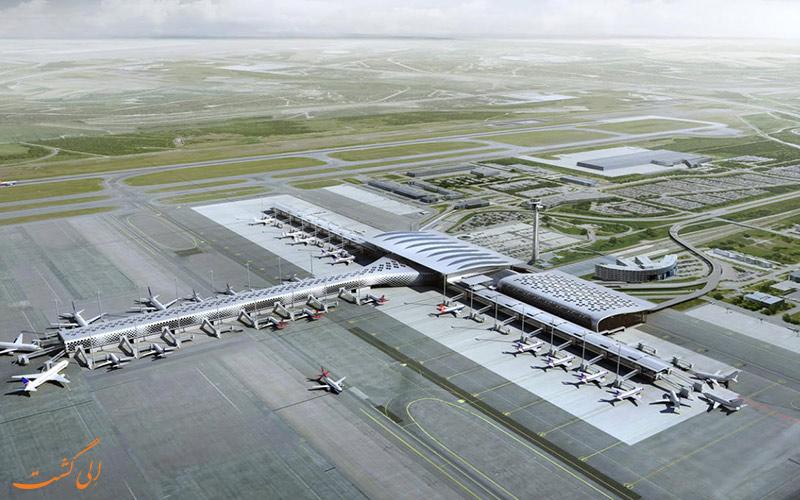 ترمینال های فرودگاه بین المللی گاردرموئن اسلو در نروژ