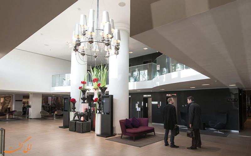 خدمات رفاهی هتل سوفیتل بلوکور لیون- لابی