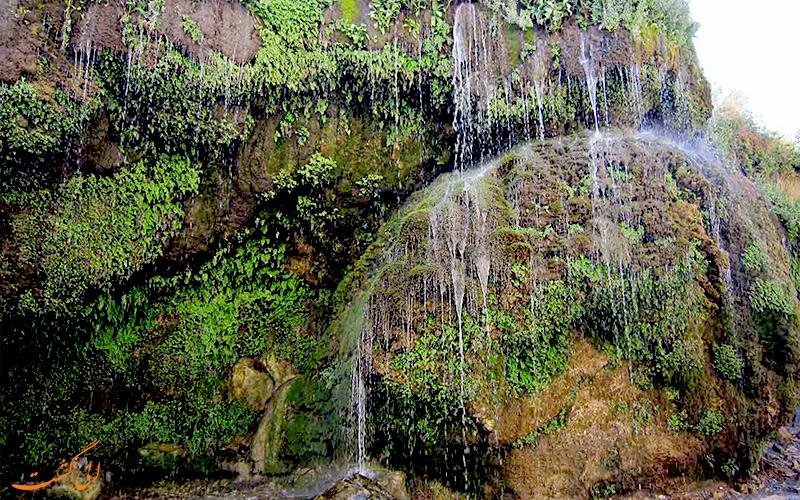 آبشار آسیاب خرابه، مرز ایران و جمهوری آذربایجان