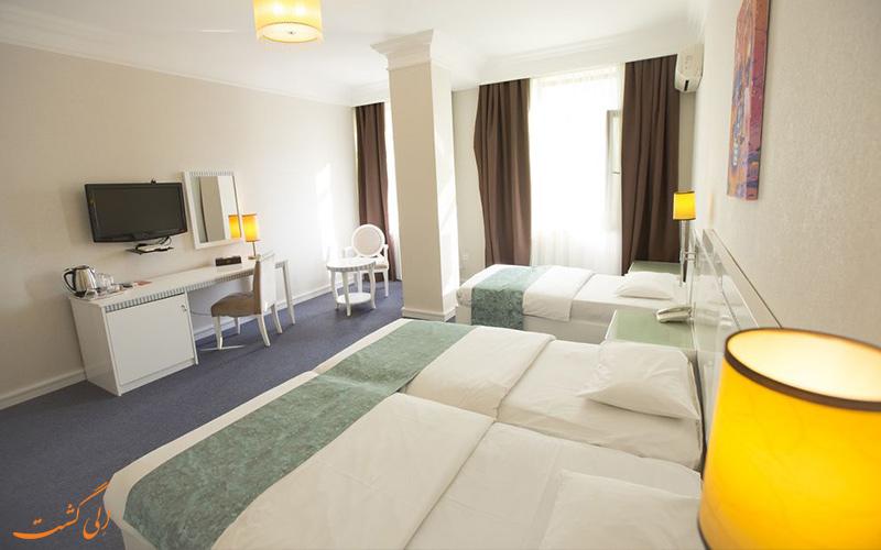 انواع اتاق های هتل آمبر باکو