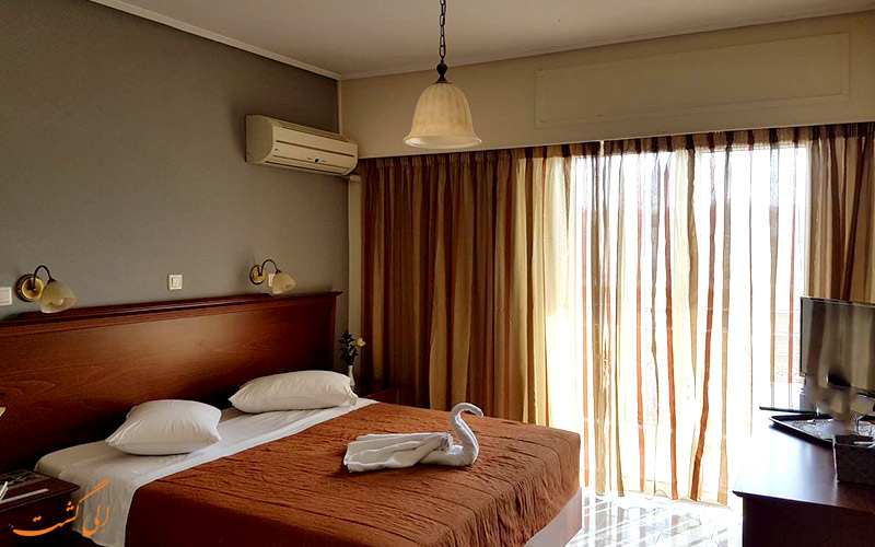 امکانات اتاق های هتل آپولو آتن