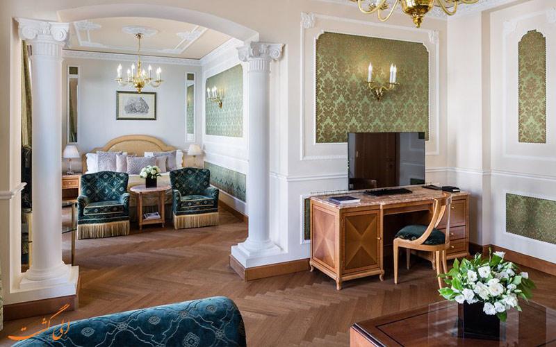 انواع اتاق های هتل کارلتون باگلیونی میلان