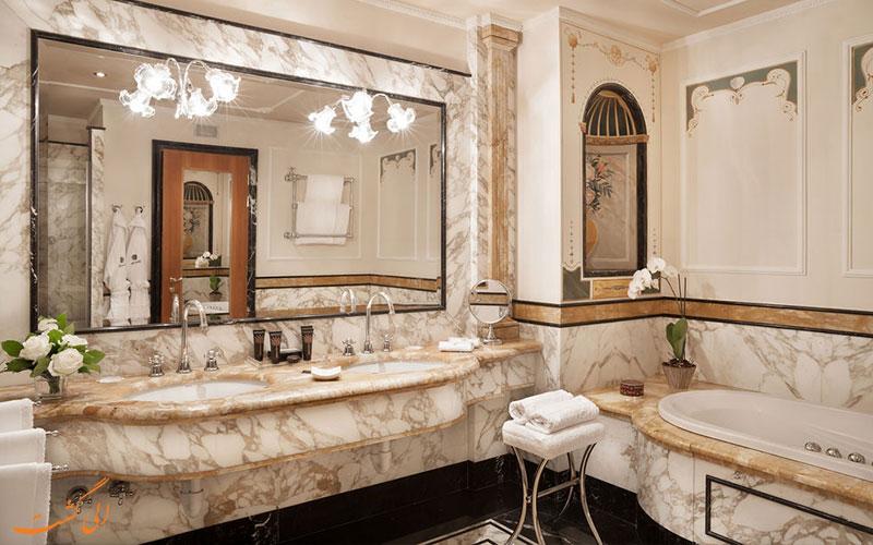 اتاق های هتل کارلتون باگلیونی سرویس بهداشتی-میلان