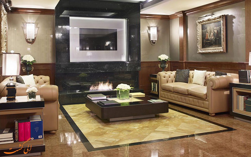 خدمات رفاهی هتل کارلتون باگلیونی میلان- شومینه