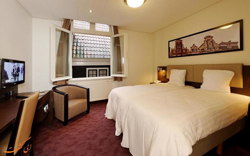 انواع اتاق های هتل بست وسترن میدان دام آمستردام