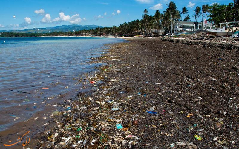 تعطیلی جزیره بوراکای فیلیپین به دلیل آلودگی