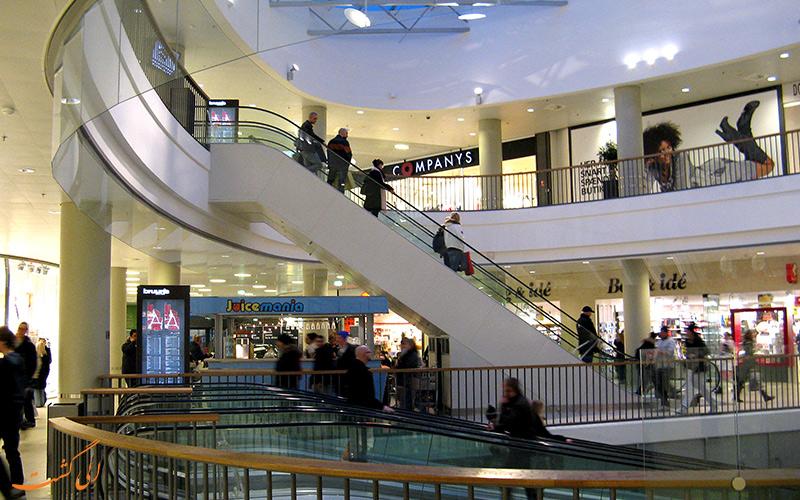 مراکز خرید در شهر آهوس دانمارک