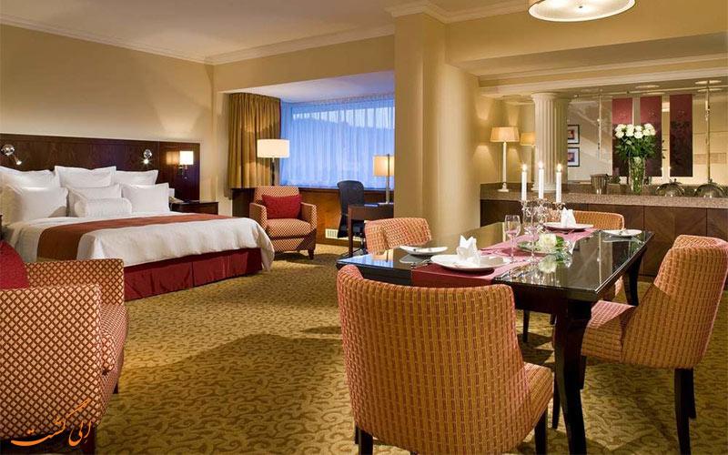 انواع اتاق های هتل ماریوت بوداپست