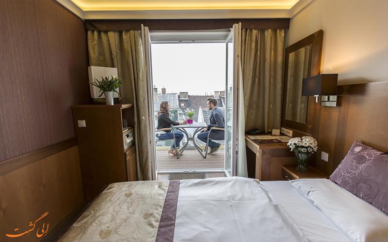 انواع اتاق های هتل کارلتون بوداپست