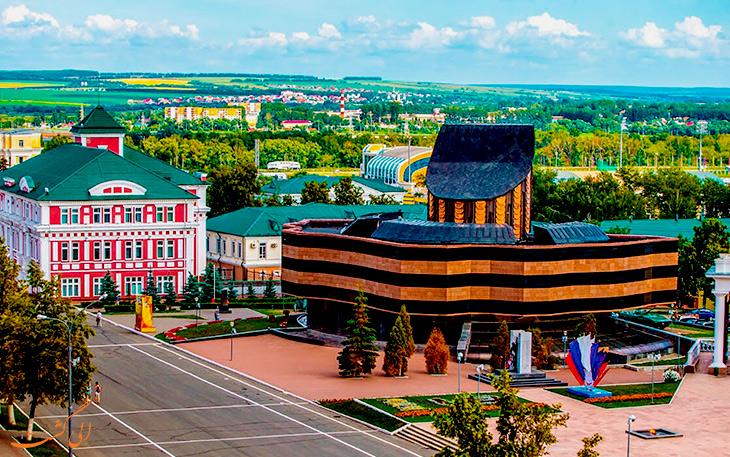 مراکز خرید شهر سارانسک