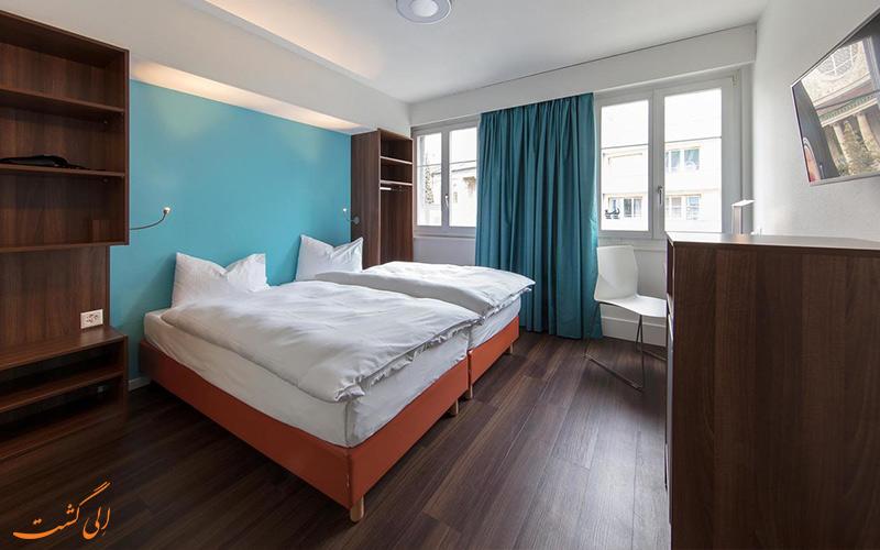 انواع اتاق های هتل رویال زوریخ