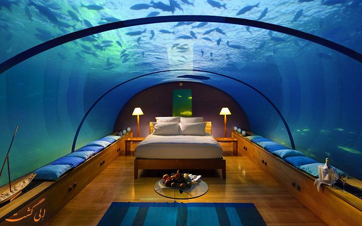هتل زیردریایی کنارد هیلتون در مالدیو