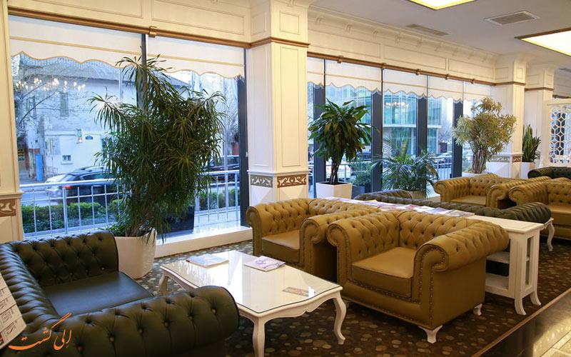 خدمات رفاهی هتل دیوان اکسپرس باکو - لابی