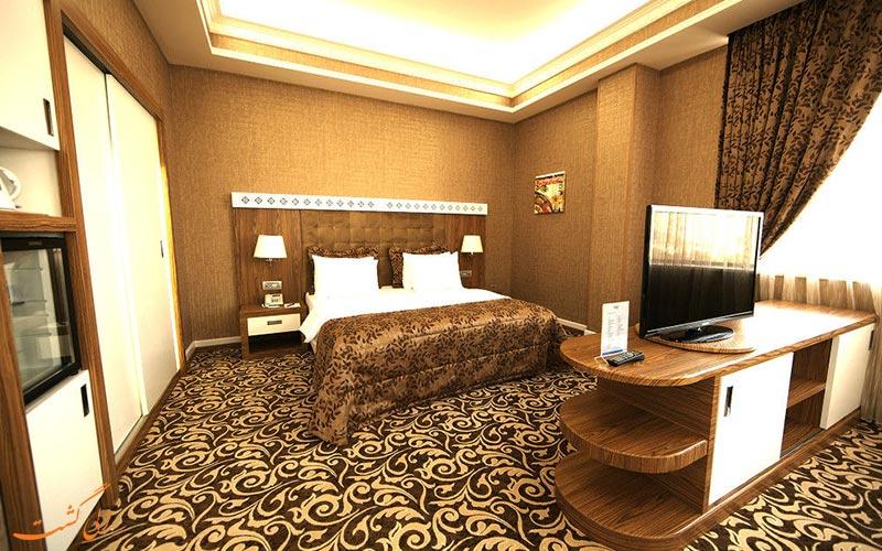 امکانات اتاق های هتل دیوان اکسپرس باکو